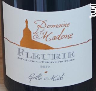 Grille Midi Vieilles Vignes - Domaine de La Madone - 2017 - Rouge
