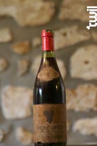 Mercurey - Domaine Philippe de Chamvigné - 1967 - Rouge