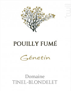 Génetin - DOMAINE TINEL BLONDELET - 2017 - Blanc