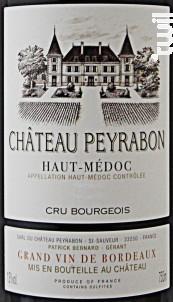Château Peyrabon - Château Peyrabon - 2000 - Rouge
