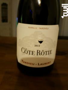 Côte Rôtie - Maison Tardieu Laurent - 2013 - Rouge