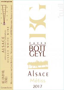 Alsace Métiss - Domaine BOTT GEYL - 2017 - Blanc