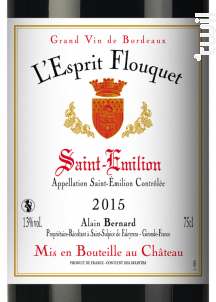 L'Esprit Flouquet - Château Flouquet INVICTUS - 2015 - Rouge