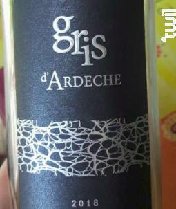 Gris D'ardèche - Vignerons Ardéchois - 2018 - Rosé