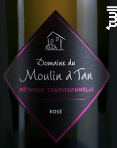 Méthode Traditionnelle Rosé - Domaine du Moulin à Tan - Non millésimé - Effervescent