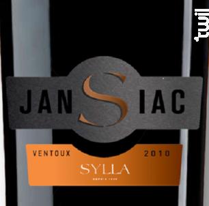 Jansiac - Les Vins de Sylla - 2017 - Rouge