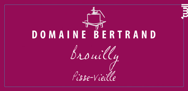 Brouilly Pisse-Vieille - Domaine Bertrand - 2017 - Rouge