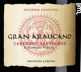 Gran Araucano Cabernet Sauvignon - François Lurton - Hacienda Araucano - 2013 - Rouge