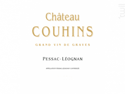 Château Couhins - Château Couhins - 2016 - Rouge