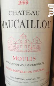 Château Maucaillou - Château Maucaillou - 1998 - Rouge