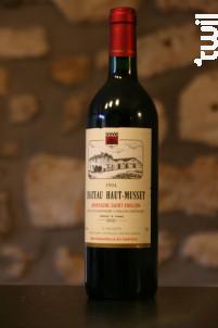 Chateau Haut Musset - Château Haut-Musset - 1988 - Rouge