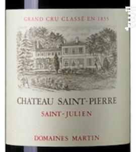 Chateau Saint Pierre - Château Saint Pierre - 2018 - Rouge
