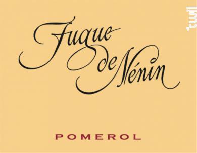 Fugue de Nénin - Château Nénin - 2015 - Rouge