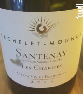 Santenay - Les Charmes - Domaine Bachelet-Monnot - 2012 - Rouge