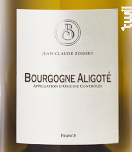 Bourgogne Aligoté Bio - Jean-Claude Boisset - 2015 - Blanc