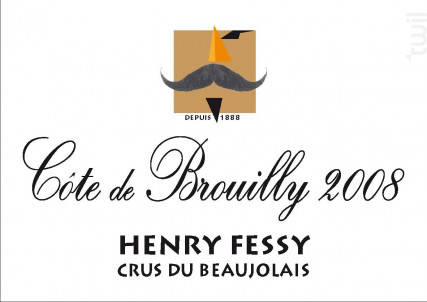 Côte-de-Brouilly - Domaine Henry Fessy - 2013 - Rouge