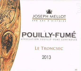 Le Troncsec - Vignobles Joseph Mellot - 2019 - Blanc