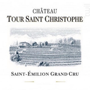 Château Tour Saint Christophe - Château Tour Saint Christophe - 1992 - Rouge