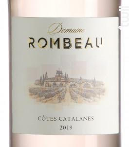 Domaine de Rombeau Côtes Catalanes - Château de Rombeau - 2019 - Rosé