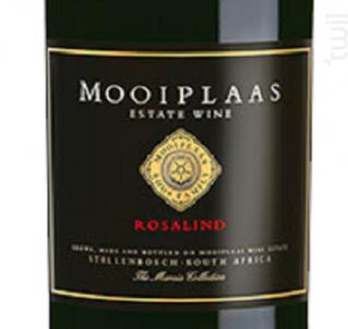 Mooiplaas Rosalind - Wines Mooiplaas Estate - 2009 - Rouge
