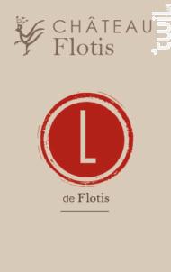 L de Flotis - Château Flotis - 2015 - Rouge