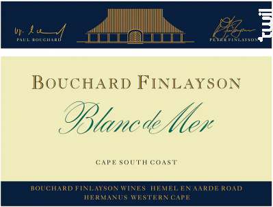 Blanc de mer - assemblage blanc - BOUCHARD FINLAYSON - 2018 - Blanc