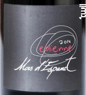 Eolienne - Mas d'Espanet - 2013 - Rouge