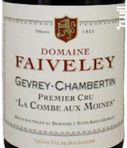 Gevrey-Chambertin - 1er Cru - La combes aux Moines - Domaine Faiveley - 2015 - Rouge