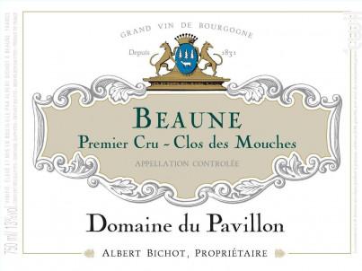 Beaune Premier Cru Clos des Mouches - Domaine du Pavillon - Domaines Albert Bichot - 2017 - Blanc