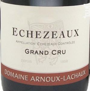 Echezeaux Grand Cru - Domaine Arnoux-Lachaux - 2006 - Rouge