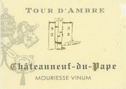 Tour D'AMBRE - Mouriesse Vinum - 2017 - Rouge