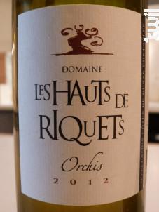 Orchis - Hauts de Riquets - 2012 - Blanc