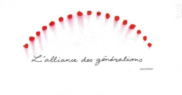 Alliance des Générations - MÉRIEAU - Vignobles des Bois Vaudons - 2015 - Rouge