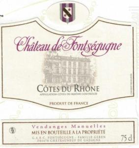 Côtes du Rhône - Chateau de Fontségugne - 2014 - Blanc