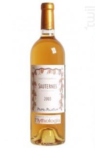 Sauternes - Primo Palatum - 1999 - Blanc