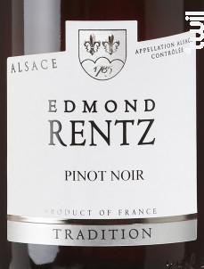Pinot Noir - Domaine Edmond Rentz - 2019 - Rouge