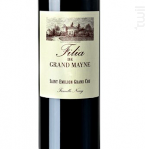 Filia Grand Mayne - Château Grand Mayne - 2015 - Rouge