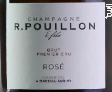 1er Cru Rosé - R.Pouillon et fils - Non millésimé - Effervescent