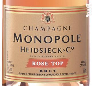 Rosé TOP - Heidsieck & CO Monopole - Non millésimé - Effervescent