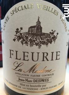 La Madone Vieilles Vignes - Domaine de La Madone - 2014 - Rouge