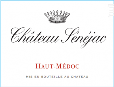 Château Sénéjac - Château Sénéjac - 2014 - Rouge