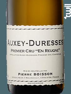 Auxey Duresses 1er Cru En Reugne - Domaine Boisson-Vadot, Anne, Bernard et Pierre - 2016 - Blanc
