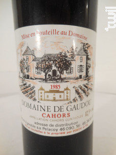 Domaine Gaudou - Château de Gaudou - 1985 - Rouge