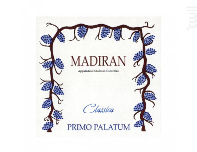 Madiran Classica - Primo Palatum - 2001 - Rouge