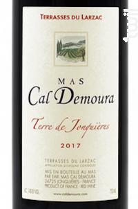 Terre De Jonquieres - Mas Cal Demoura - 2017 - Rouge