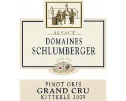 Pinot Gris Grand Cru Kitterlé - Domaines Schlumberger - 2002 - Blanc