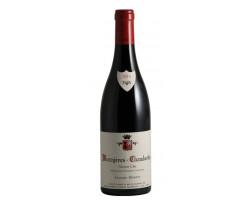 Mazoyeres Chambertin - Domaine Denis et Arnaud Mortet - 2016 - Rouge