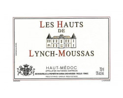Les Hauts de Lynch-Moussas - Château Lynch-Moussas - 2011 - Rouge