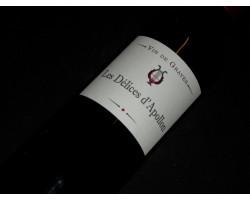Les Délices d'Apollon - Château Vénus - 2016 - Rouge