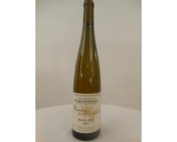 Alsace Riesling Grand Cru Schlossberg - Baron de Manfeld - 2003 - Blanc